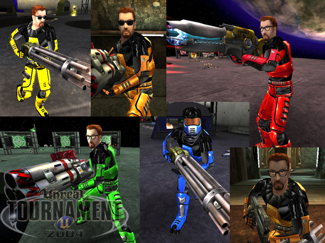 Gordon Freeman - Russian Tournament