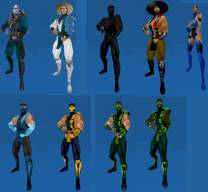 Mortal Combat Models Pack