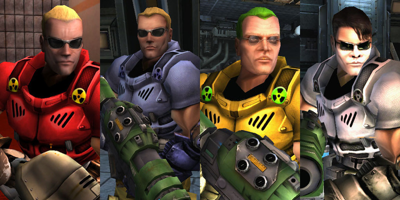Duke Nukem Skins - Russian Tournament