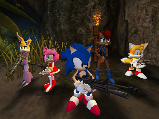 Sonic the Hedgehog & the Knothole Freedom Fighters - Russian Tournament
