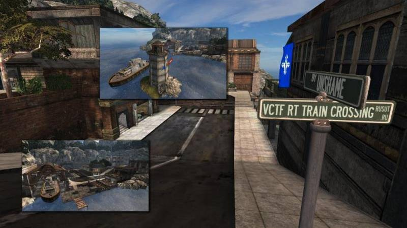 UT2004 - VCTF-RT-TrainCrossing