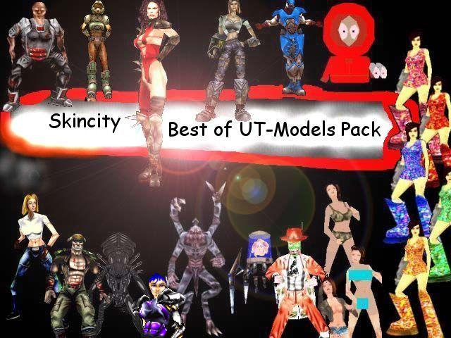 Best of UT Models Pack - Russian Tournament