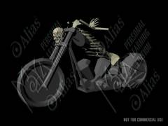 Chopper Skeleton